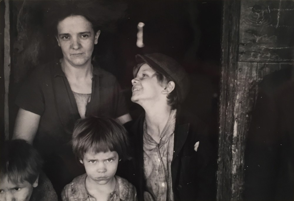 Ben Shahn, The Little Family of a Coal Miner in West Virginia, During the Great Depression, c. 1935