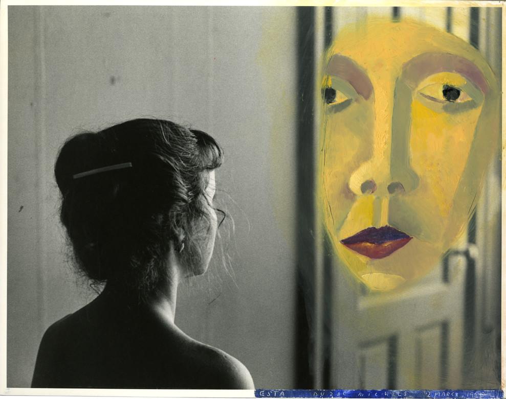 Duane Michals, Esta Contemplates the Enigma, March 2, 1980
