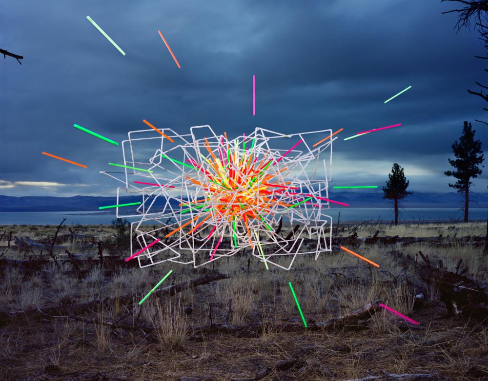 Thomas Jackson, Straws no. 4, Mono Lake, California, 2015