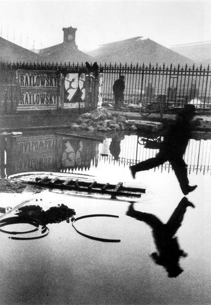 Henri Cartier-Bresson, Behind the Gare Saint-Lazare, 1932
