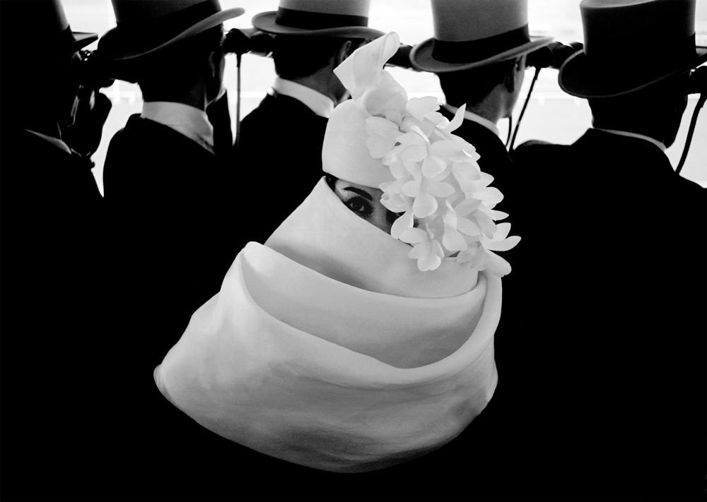 Frank Horvat, Givenchy Hat A, 1958