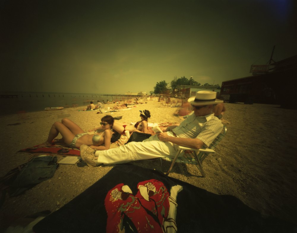 Willie Anne Wright, Colonial Beach, Virginia: Jack, Ruth, Anne W.- The Parrot Towel , 1981