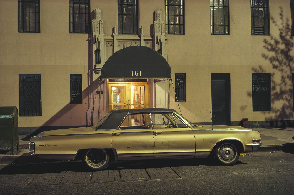 Langdon Clay, 161 Car, Chrysler New Yorker, 16th Street and 7th Avenue, 1974