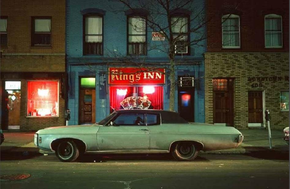 Langdon Clay, King's Inn Car, Hoboken New Jersey, 1975
