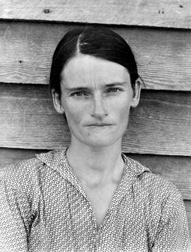 Walker Evans, Tenant Farmer's Wife, Alabama, 1936