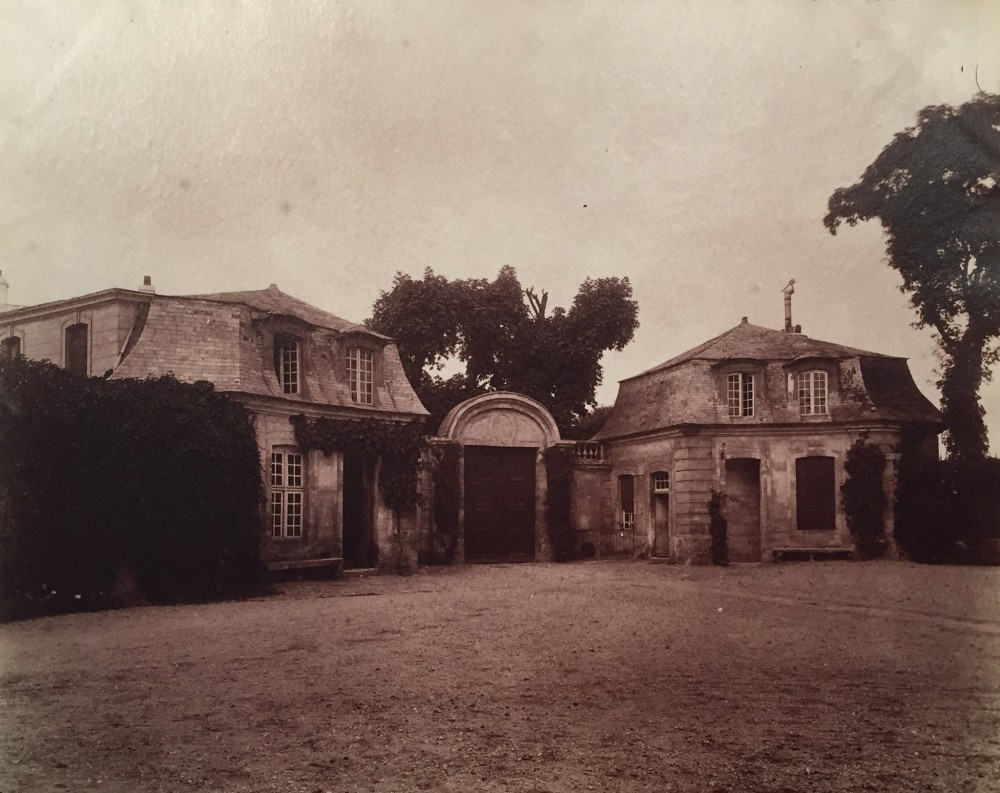 Eugene Atget, Vitry - Chateau XVIIe Siecle, 1901