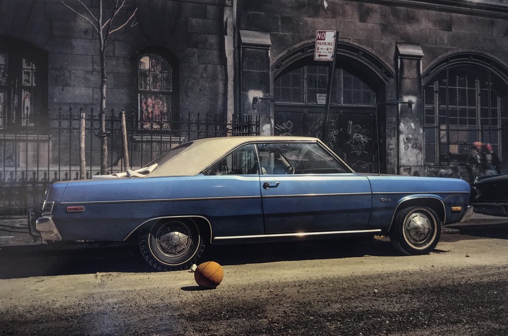 Langdon Clay, Basketball Car, Plymouth Duster, 1974
