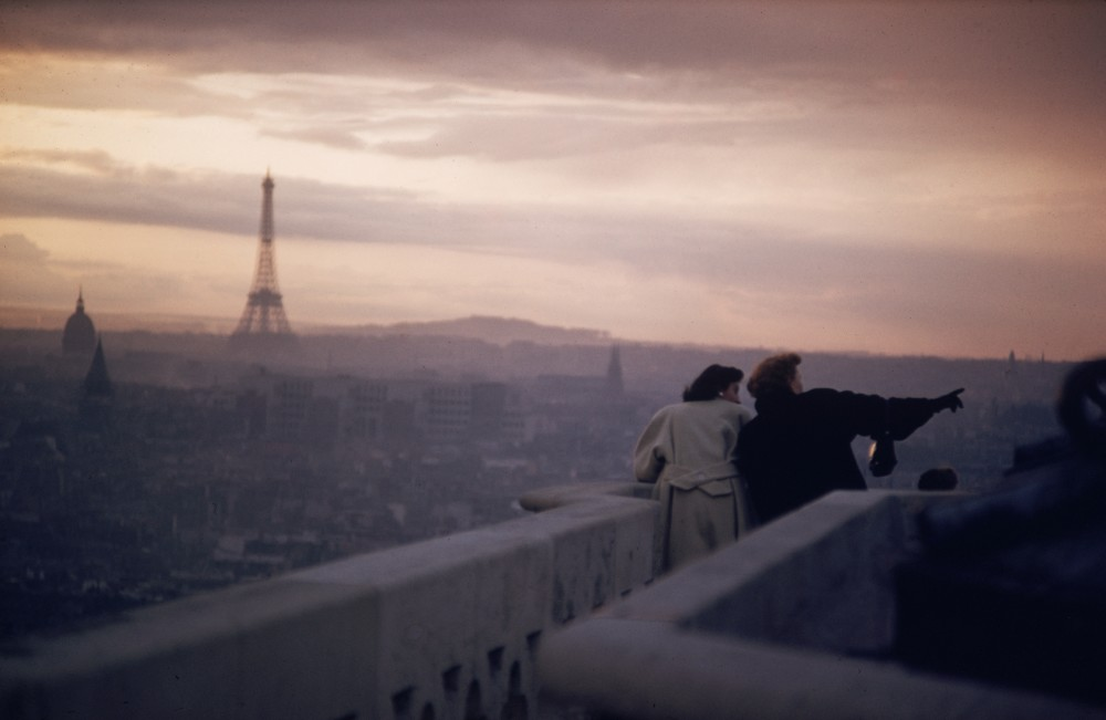 Ernst Haas, Paris, France, View from Notre Dame, 1955
