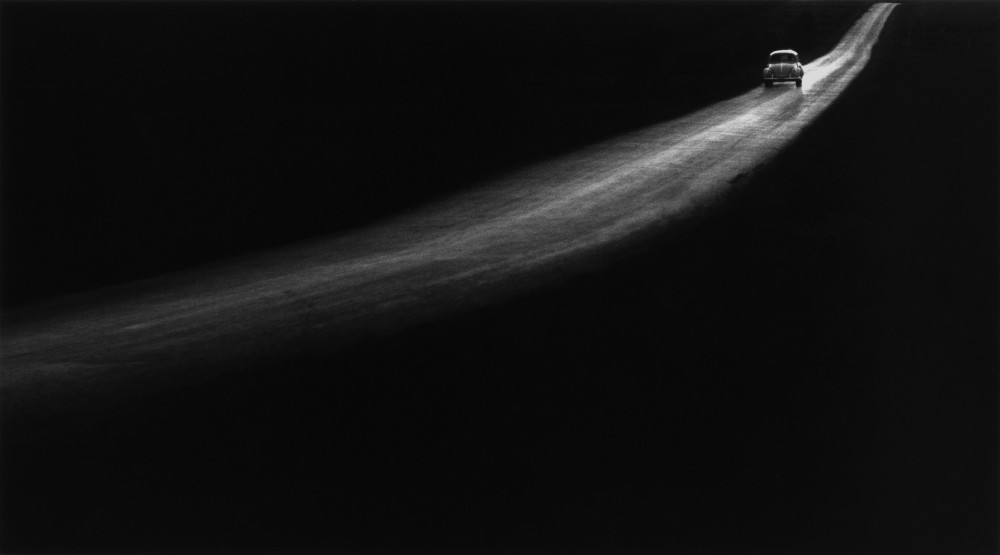 George Tice, Country Road, Lancaster, Pennsylvania, 1961