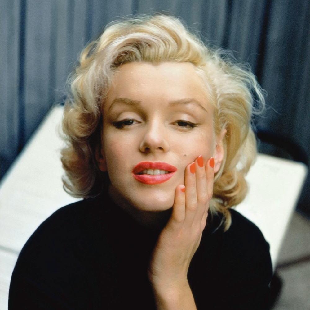 Alfred Eisenstaedt, Pensive Marilyn, Hollywood, California, 1953