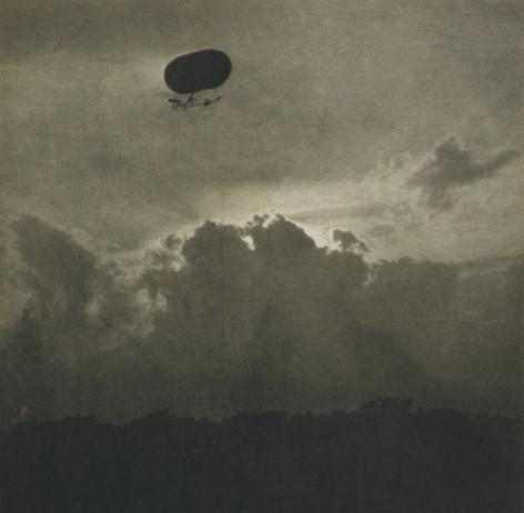 Alfred Stieglitz, A Dirigible , 1911
