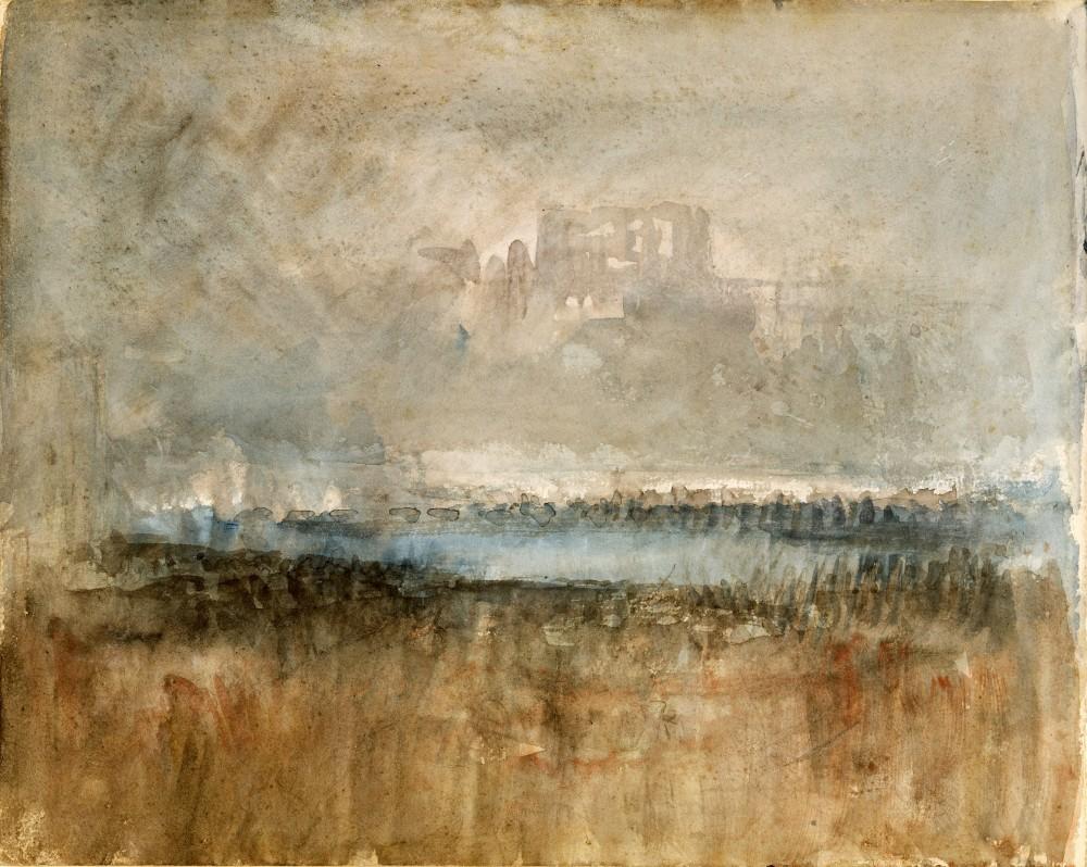 DOVER CASTLE, c.1845
