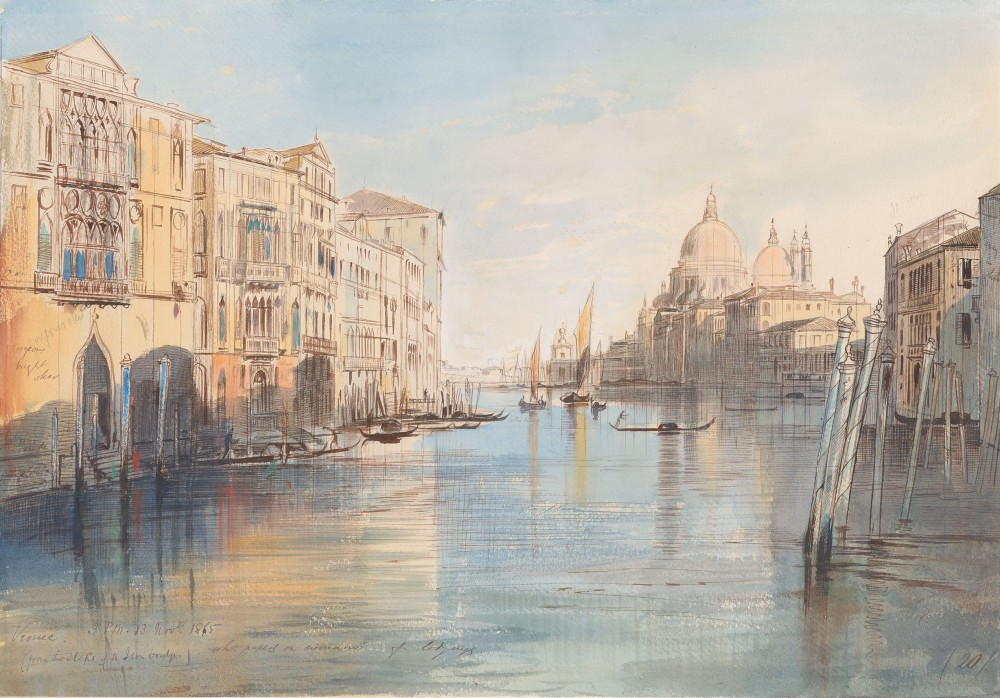 The Grand Canal with Santa Maria della Salute, Venice
