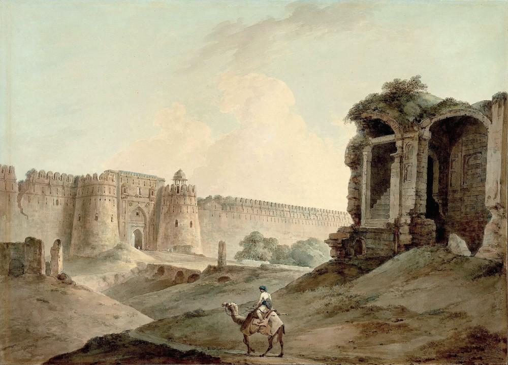 The Purana Qila, Delhi