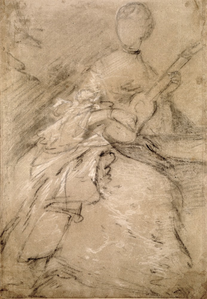 Study for the Portrait of Ann Ford, Mrs Philip Thicknesse