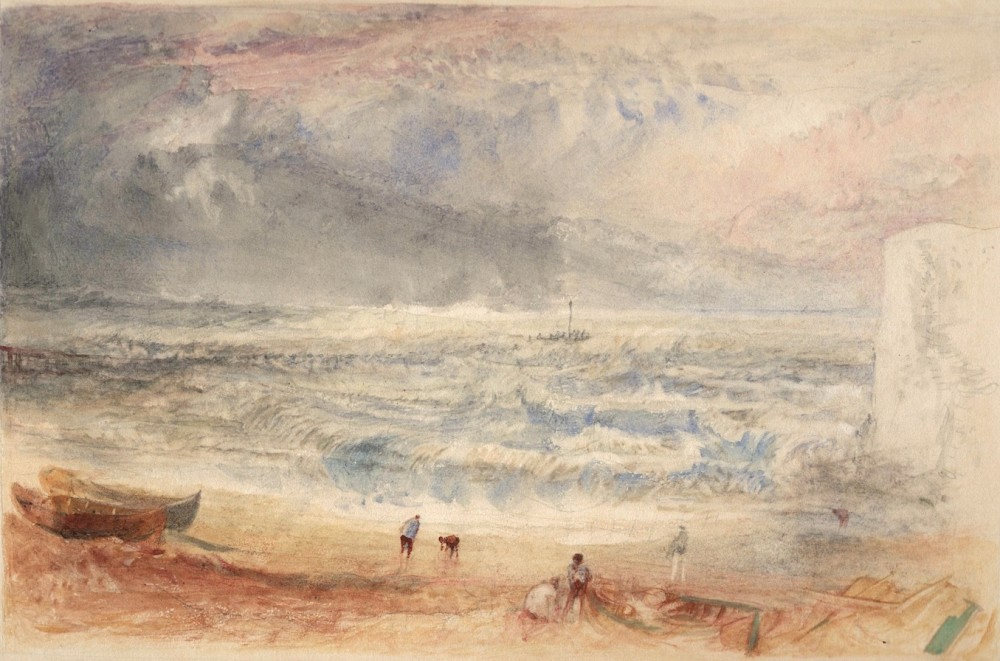 Margate: Cold Harbour Beach, with the Cliff at Fort Point and Jarvis's Landing Place