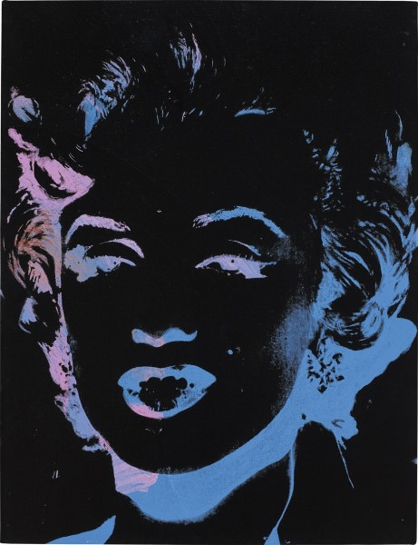 <div class=&#34;artist&#34;><strong>Andy Warhol</strong></div> 1928 Pittsburgh - 1987 New York <div class=&#34;title&#34;><em>One Multicolored Marilyn (Reversal Series)</em>, 1979/86</div> <div class=&#34;signed_and_dated&#34;>Signed and dated Andy Warhol 79/86 along the overlap; further stamped by the Andy Warhol Authentication Board and numbered A105.1110 along the overlap.</div> <div class=&#34;medium&#34;>Acrylic and silkscreen ink on canvas</div> <div class=&#34;dimensions&#34;>45.7 x 35.2 cm / 18 x 13.9 in</div>