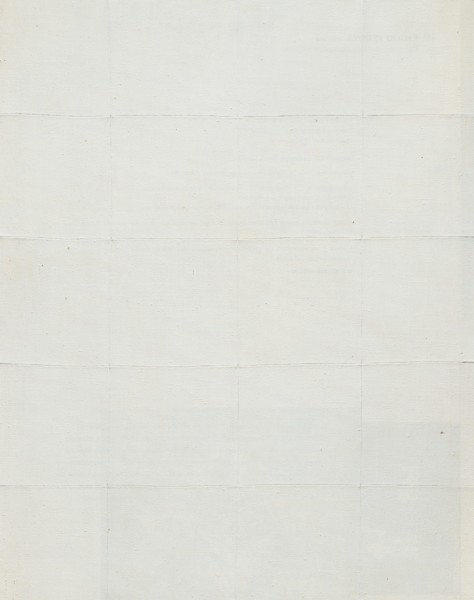 <div class=&#34;artist&#34;><strong>Piero Manzoni</strong></div><div class=&#34;title_and_year&#34;><em>Achrome</em>, 1959</div><div class=&#34;medium&#34;>Kaolin on canvas stitched into squares</div><div class=&#34;dimensions&#34;>100 x 80 cm / 39.4 x 31.5 in</div>