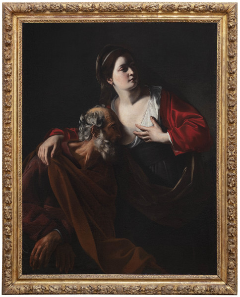 """<div class=""""artist""""><strong>Nicolas Tournier</strong></div><div class=""""title_and_year""""><em>Roman Charity</em>, <span class=""""title_and_year_year"""">c. 1620</span></div><div class=""""medium"""">Oil on canvas</div><div class=""""dimensions"""">123 x 94 cm (48 3/8 x 37 1/8 in.)</div>"""