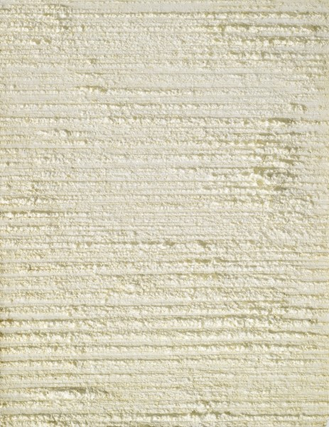 <div class=&#34;artist&#34;><strong>Piero Manzoni</strong></div> Soncino Cremona 1933 - 1963 Milan <div class=&#34;title&#34;><em>Achrome</em>, 1960-61</div> <div class=&#34;medium&#34;>Expanded polystyrene & phosphorescent varnish</div> <div class=&#34;dimensions&#34;>65 x 50 cm / 25.6 x 19.7 in</div>