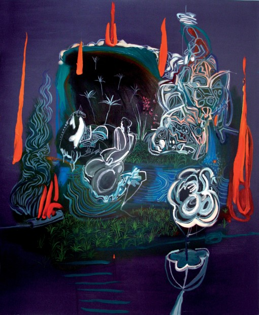 "<span class=""artist""><strong>Rokni Haerizadeh</strong></span>, <span class=""title""><em>Khosrow and Shirin</em>, 2008</span>"