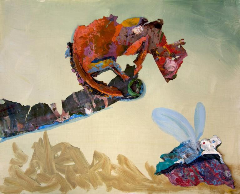 "<span class=""artist""><strong>Hesam Rahmanian</strong></span>, <span class=""title""><em>Chameleon Hunting</em>, 2012</span>"