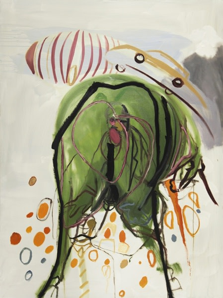 <span class=&#34;artist&#34;><strong>Rokni Haerizadeh</strong></span>, <span class=&#34;title&#34;><em>I'd Rather Stay Alive Even if it Means Peeking at the World Through a Donkey's Asshole</em>, 2009</span>