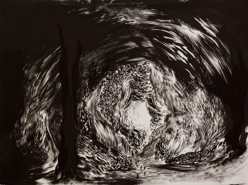 <span class=&#34;artist&#34;><strong>Abdelkader Benchamma</strong></span>, <span class=&#34;title&#34;><em>Cave - Unreachable</em>, 2017</span>