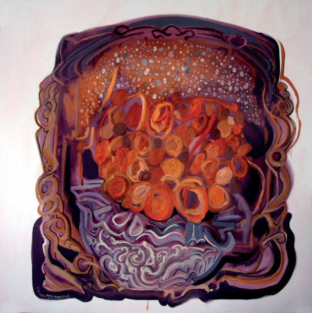 <span class=&#34;artist&#34;><strong>Rokni Haerizadeh</strong></span>, <span class=&#34;title&#34;><em>One Snowy Day</em>, 2007</span>