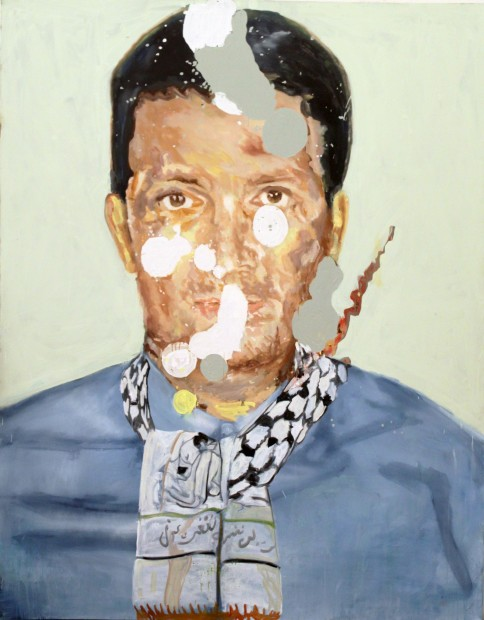 <span class=&#34;artist&#34;><strong>Jeffar Khaldi</strong></span>, <span class=&#34;title&#34;><em>You can Take A Man Out of Palestine But You Can't Take Palestine Out of a Man</em>, 2010</span>