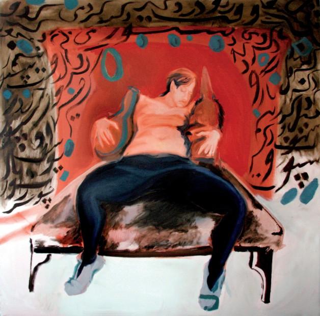 "<span class=""artist""><strong>Rokni Haerizadeh</strong></span>, <span class=""title""><em>Masnavi Ma'navi - The Fifth Notebook (02)</em>, 2007</span>"