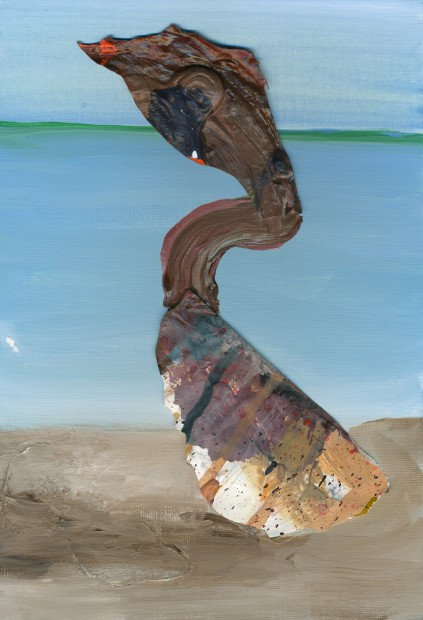 "<span class=""artist""><strong>Hesam Rahmanian</strong></span>, <span class=""title""><em>A Bird on the Seashore 1</em>, 2012</span>"