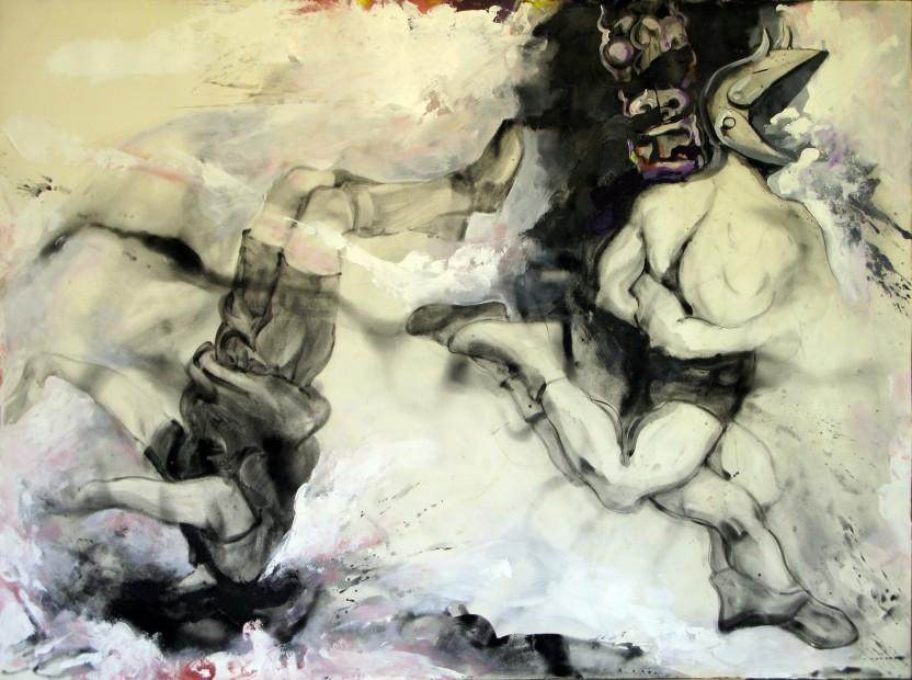 """<span class=""""artist""""><strong>Ahmad Amin Nazar</strong></span>, <span class=""""title""""><em>Untitled 12</em>, 2009</span>"""