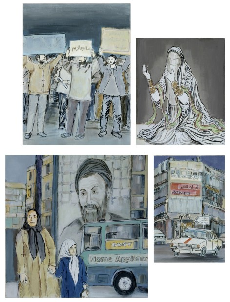 """<span class=""""artist""""><strong>Mona Hakimi</strong></span>, <span class=""""title""""><em>Memory Traces (01)</em>, 2008</span>"""