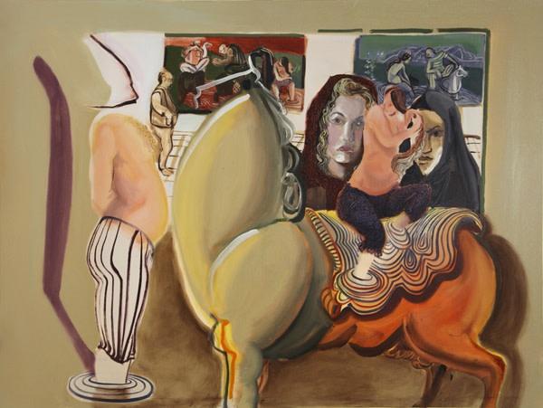 <span class=&#34;artist&#34;><strong>Rokni Haerizadeh</strong></span>, <span class=&#34;title&#34;><em>Khosrow and Shirin</em>, 2009</span>