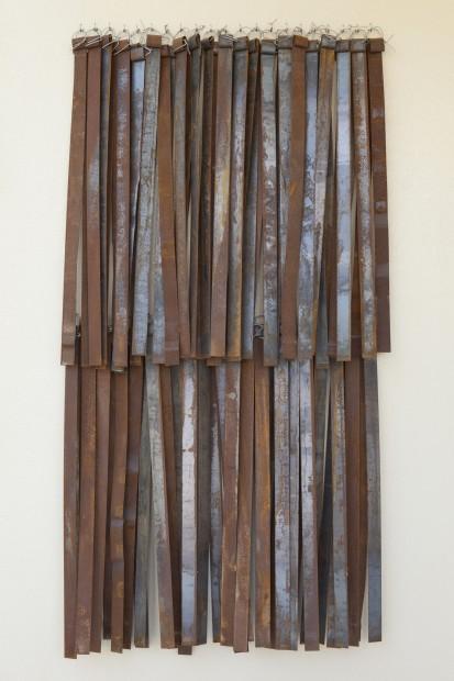 "<span class=""artist""><strong>Hassan Sharif</strong></span>, <span class=""title""><em>Iron No. 5</em>, 2013</span>"
