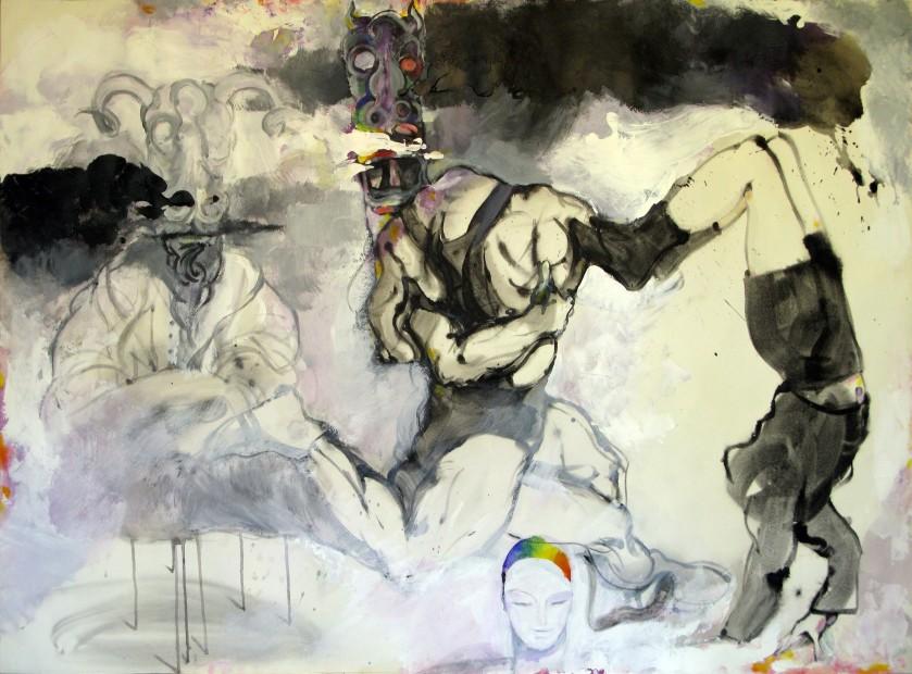 """<span class=""""artist""""><strong>Ahmad Amin Nazar</strong></span>, <span class=""""title""""><em>Untitled 10</em>, 2009</span>"""