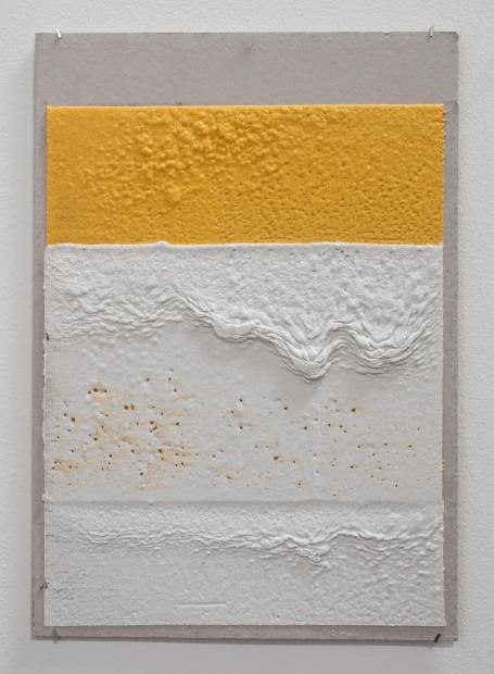 <span class=&#34;artist&#34;><strong>Vikram Divecha</strong></span>, <span class=&#34;title&#34;><em>300mm (W), 2mm (T), Yellow, White, Random Mark, Hand Marking, Al Barsha South, Unnamed Street</em>, 2017</span>