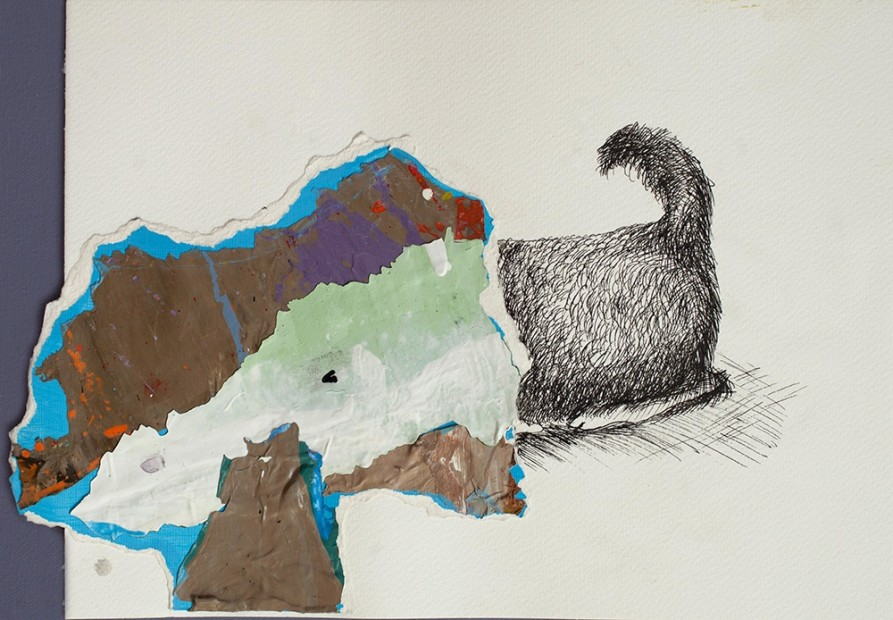 <span class=&#34;artist&#34;><strong>Hesam Rahmanian</strong></span>, <span class=&#34;title&#34;><em>Hiding Dog</em>, 2013</span>