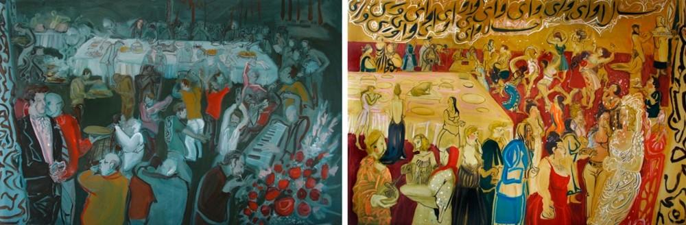 "<span class=""artist""><strong>Rokni Haerizadeh</strong></span>, <span class=""title""><em>Typical Iranian Wedding</em>, 2007</span>"