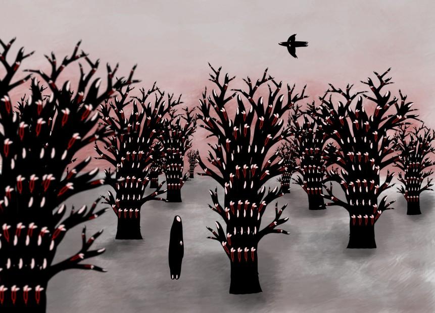 "<span class=""artist""><strong>Niyaz Azadikhah</strong></span>, <span class=""title""><em>Refuge</em>, 2010</span>"