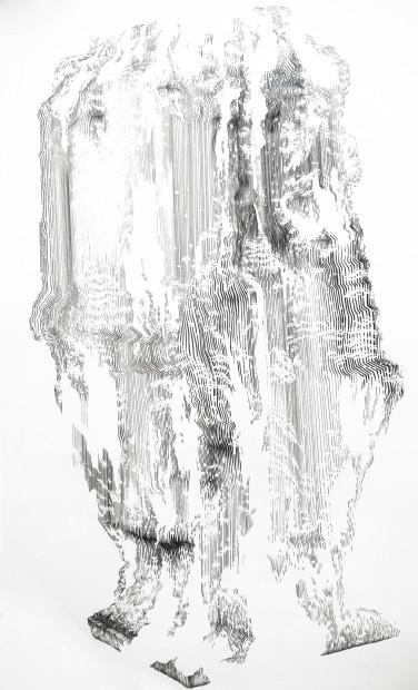 "<span class=""artist""><strong>Abdelkader Benchamma</strong></span>, <span class=""title""><em>Sculpture</em>, 2011</span>"