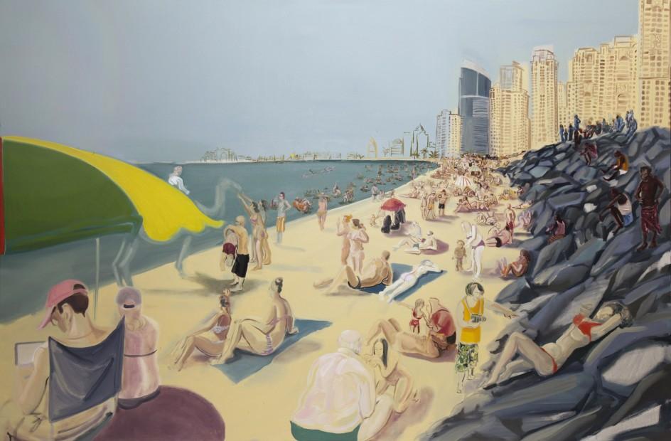 <span class=&#34;artist&#34;><strong>Rokni Haerizadeh</strong></span>, <span class=&#34;title&#34;><em>Jumeirah Beach Residence Fridays</em>, 2009</span>