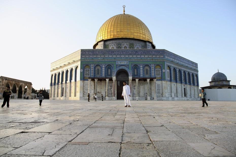 <em>The Dome of the Rock, Jerusalem</em>, 2011