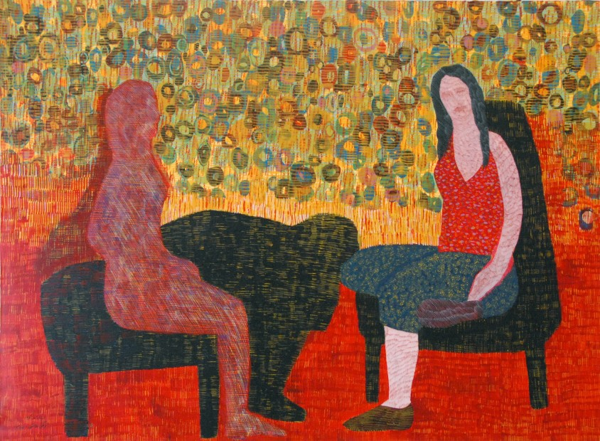 "<p><span class=""artist""><strong>Nargess Hashemi</strong></span></p><p><em><span class=""artist"">Stories from the Boudoir</span></em></p><p><span class=""artist"">2008</span></p>"
