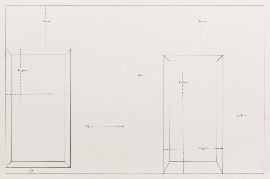 <em>Measuring Walls</em>, 1998 (Reconstituted in 2014)