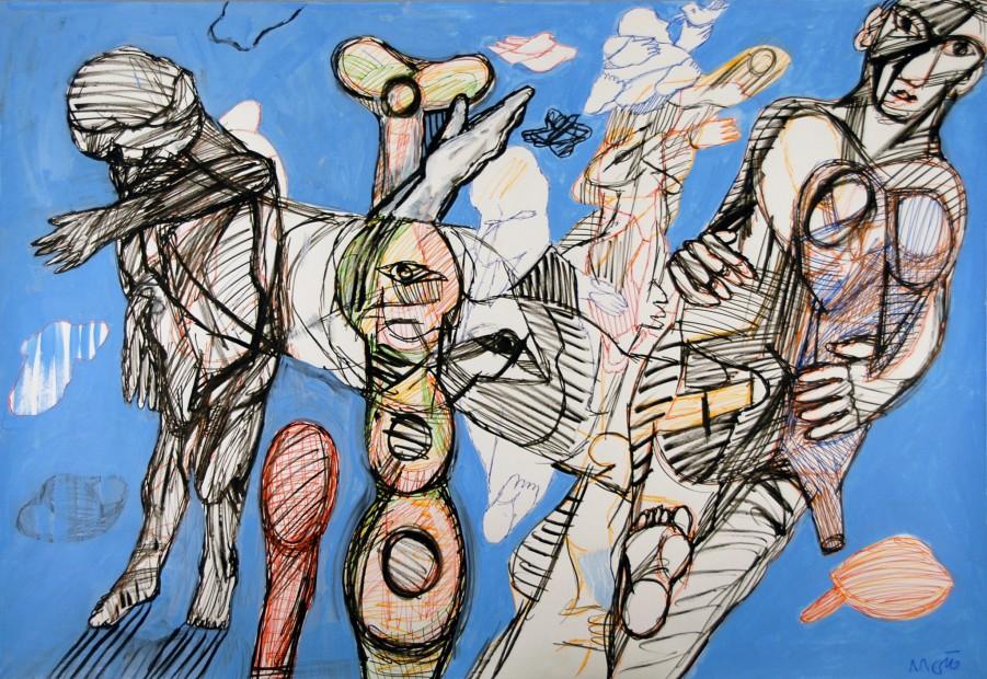 "<span class=""artist""><strong>Farshid Maleki</strong></span>, <span class=""title""><em>Untitled OB01</em>, 2009</span>"