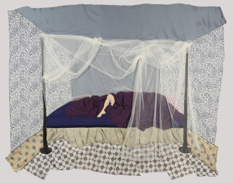 """<span class=""""artist""""><strong>Zahra Imani</strong></span>, <span class=""""title""""><em>In Bed</em>, 2016</span>"""
