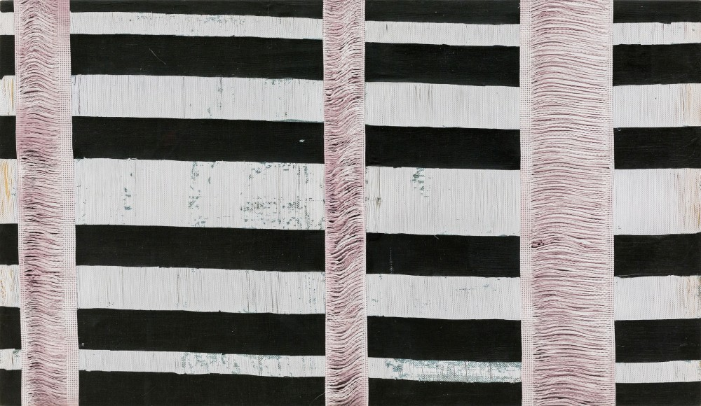 """<span class=""""artist""""><strong>Jessica Mein</strong></span>, <span class=""""title""""><em>Untitled (Blackout)</em>, 2014</span>"""
