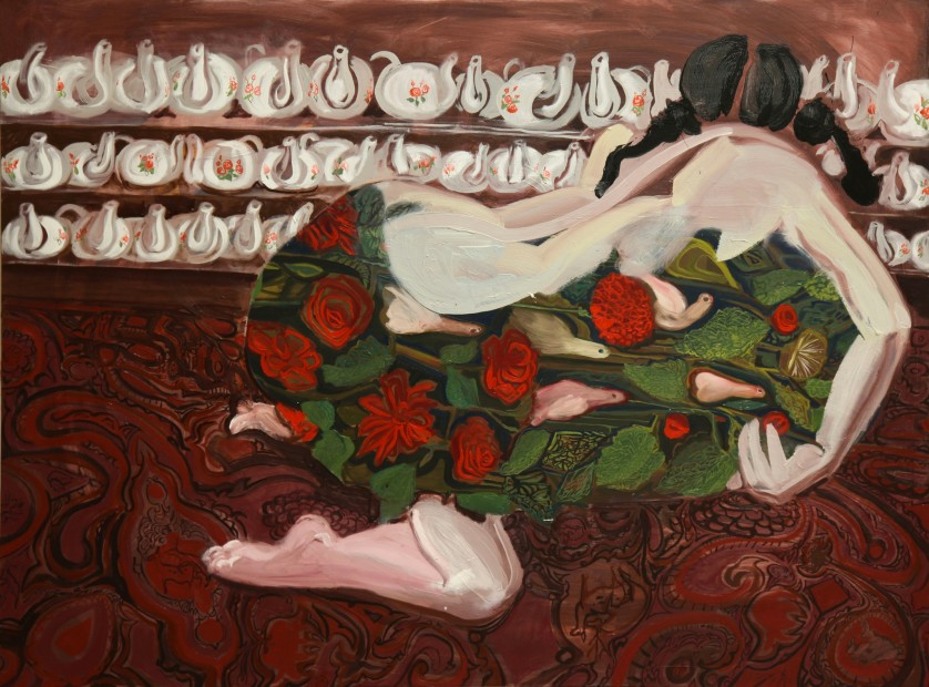 "<span class=""artist""><strong>Rokni Haerizadeh</strong></span>, <span class=""title""><em>Chiniye Gole Sorkhi</em>, 2009</span>"